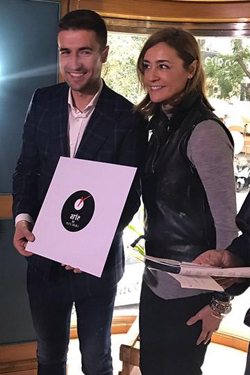 Premios Gredos 2016. 'LP de Jamón' para el capitán del Atlético de Madrid Gabi