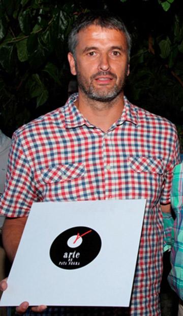 Premios Gredos 2015. LP de Jamón para César Jiménez, exfutbolista