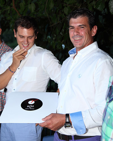 Premios Gredos 2015. LP de Jamón para Juan José Sastre, empresario